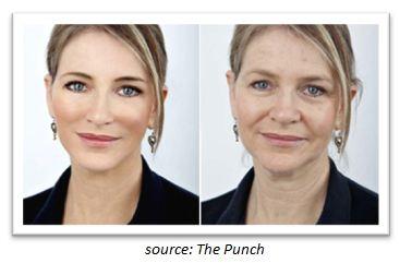 photoshopped image
